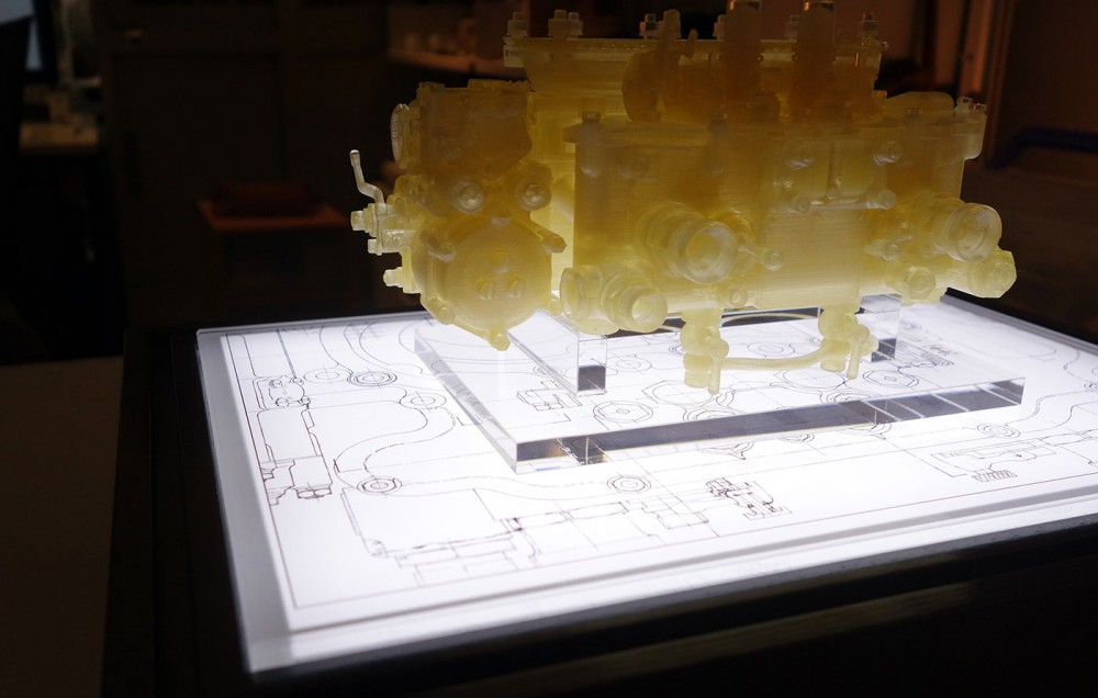 3Dプリンターで刻まれた会社の歴史